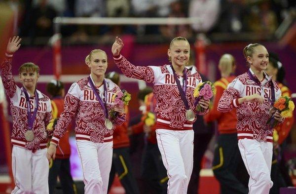 Серебряные медалистки олимпиады 2012