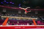 Виктория Комова в квалификации упражнений на бревне