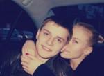 Ксения Афанасьева со своим молодым человеком