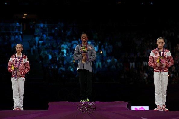 Виктория Комова - серебряный призер Олимпиады в абсолютном первенстве