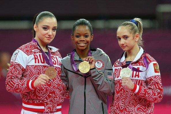 Виктория Комова - обладательница серебряной медали Олимпиады 2012