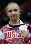 Виктория Комова - обладательница серебряной медали Олимпийских игр 2012 в личном многоборье