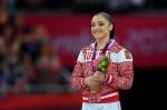 Алия Мустафина - золотая медалистка Олимпиады 2012