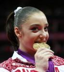 Алия Мустафина - чемпионка Олимпиады 2012