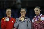 Алия Мустафина - бронзовая медалистка Олимпиады 2012