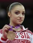 Алия Мустафина - бронзовый призер Олимпийских игр