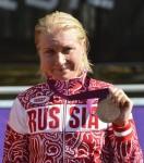 Ольга Забелинская - обладательница бронзовой медали на Олимпиаде 2012